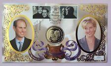 15.6.99 Royal Wedding, Prince Edward, Sophie. Sig. SWANNELL. '99 Gibraltar Coin