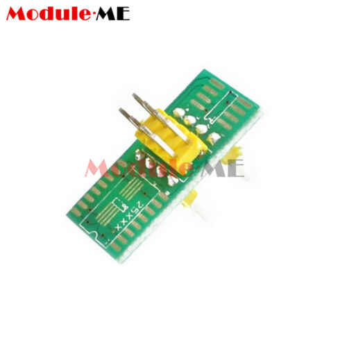 2 Adapter UK SOIC8 SOP8 Test Clip For EEPROM 93//25 //24Cx in-Circuit Programming