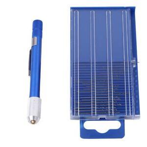 HSS-Micro-Bit-Index-Hand-Drill-Set-61-80-Hand-Mini-Wire-Gauge-Twist-Tool-LD