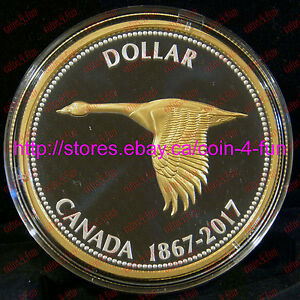 1867-2017-Big-Coin-Alex-Colville-Designs-Goose-5-OZ-1-Pure-Silver-Dollar-Canada