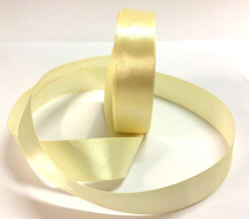 22m ruban de Satin 25mm 1 pouce de large pastel lumineux partie exigeant couleurs mariage