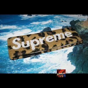 c38fc7d51b3 Image is loading Supreme-Reflective-New-Era-Headband-Leopard-Box-Logo-