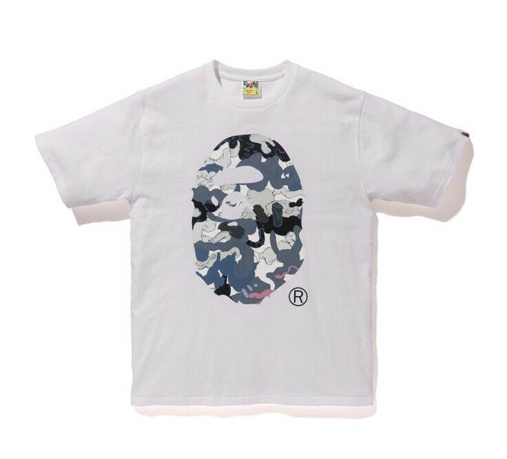 Bape X X X Hebru Brantley  3 Tee bianca Size Medium 100% autentico 8a1acb