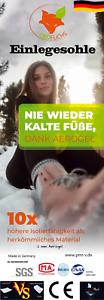 """Innensohle /""""Nie wieder Kalte Füße/"""" Einlegesohlen"""