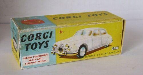 Repro Box Corgi Nr.208 S Jaguar 2,4 litre Saloon