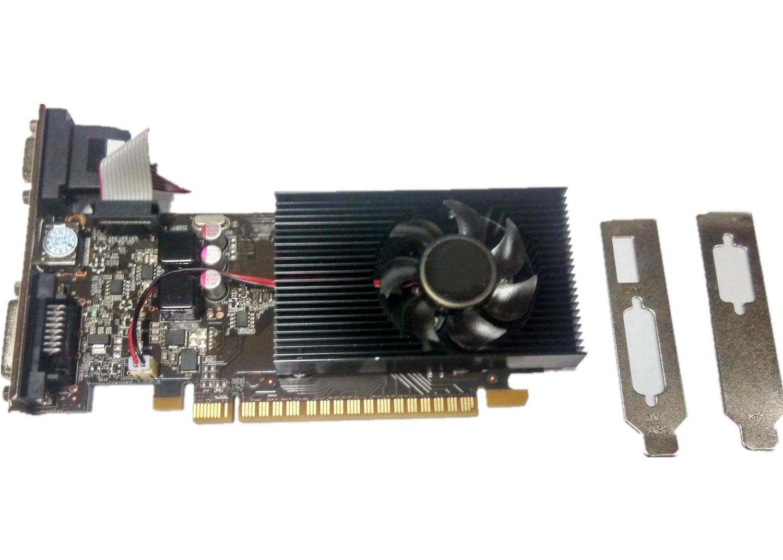 64bit 2GB NVIDIA GeForce GT730 DDR3 DVI VGA HDMI PCI-E Graphics Card
