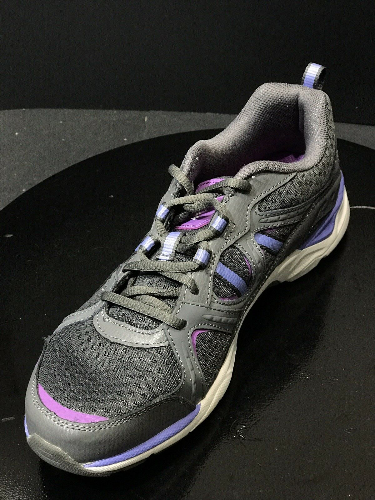 Ryka Revenant Walking Womens shoes Size US 9 M Dark Grey Pink