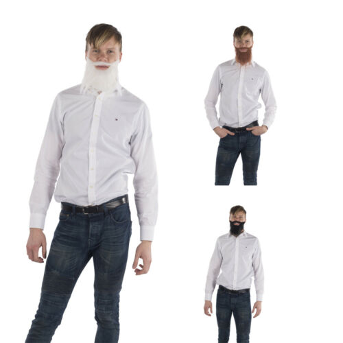 with Elastic Strap and Mustache Dress Up America Fake Beard for Men