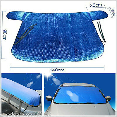 Durable Folding Car Off-Road Front Windshield Snow Defence Sun Shade Block Cover
