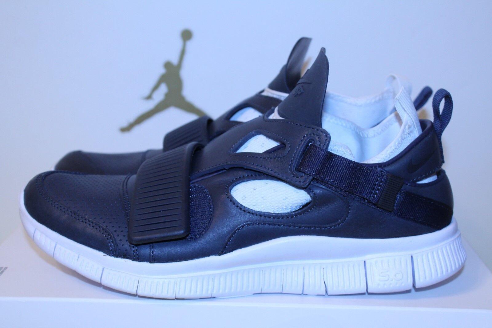 Nike Free Huarache Carnivore NikeLab Men SZ 9 Obsidian/White [801759 413]
