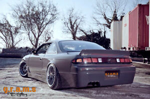 Guardabarros-trasero-de-ancho-cuartos-50mm-para-Nissan-S14-S14a-200SX-v8-Kit-de-cuerpo-Silvia