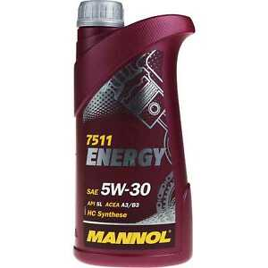 1-Liter-Original-MANNOL-Motoroel-Energy-5W-30-API-SL-Engine-Oil-Ol
