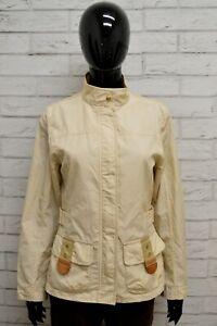Giubbino-FAY-Donna-Taglia-Size-M-Giubbotto-Giacca-Cappotto-Jacket-Woman-Beige