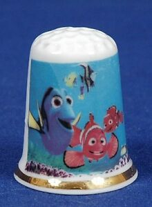 Disney-034-Finding-Nemo-034-Exclusive-039-Bone-China-Thimble-B-27