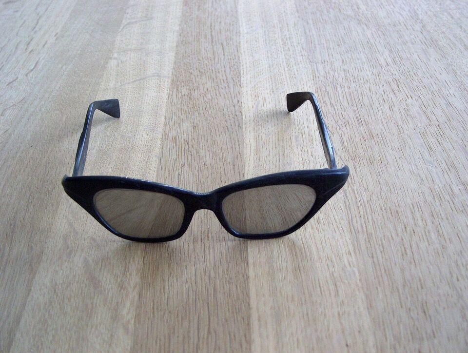 Solbriller unisex, sorte solbriller med spejlglas