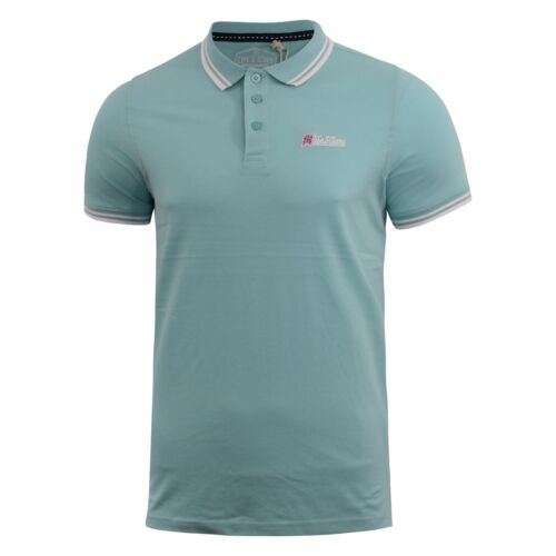 Mens Polo Shirt Life and Glory Pique ThedaB Tee Top