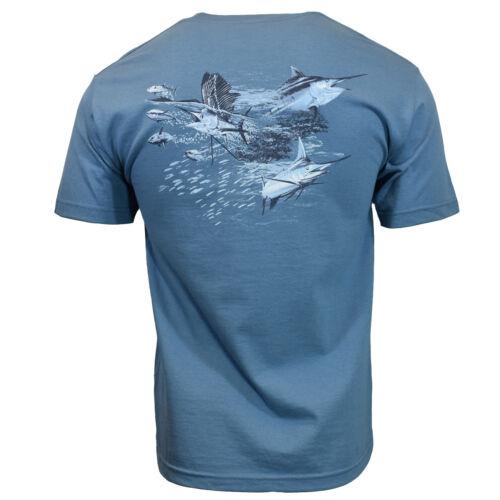 Fishing Mens T Shirt M L XL 2XL Fish Marlin Bass Ocean Sailing Hunting Tuna NEW