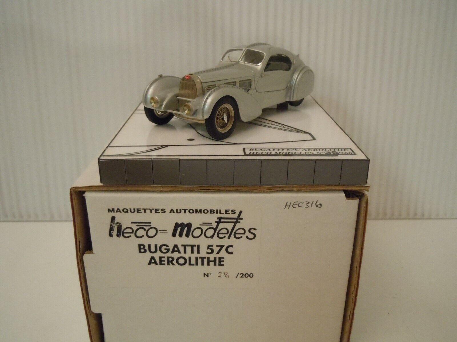 risparmia fino al 70% 1 43  HECO-modelloES Bugatti Type 57 C C C  Aerolithe   Ch.  57331  prezzo basso