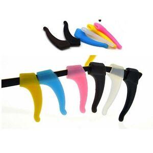 Silicone-Glasses-Ear-Hooks-Tip-Eyeglasses-Grip-Anti-Slip-Temple-Holder-UR