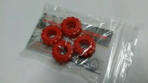4-Wide-034-RADICAL-RED-034-Workhorse-Tires-for-80-039-s-Schaper-Stomper-Rough-Rider-repro