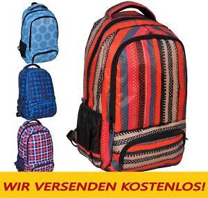 Rucksack Schulrucksack Schultasche Schulranzen Damen Herren Junge Mädchen Groß