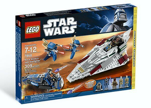Lego 7868 Star Wars Mon Mace Windu's Jedi Starfighter - NEU