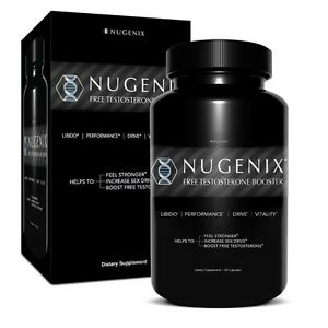 nugenix men 39 s testosterone sex booster 90 caps muscle strength libido testofen ebay. Black Bedroom Furniture Sets. Home Design Ideas