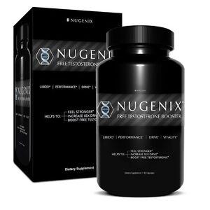 nugenix men 39 s testosterone sex booster 90 caps muscle strength libido testofen ebay. Black Bedroom Furniture Sets. Home Design Ideas