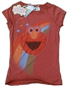 Rare-Authentic-Famous-Forever-Official-Sesamstrasse-Elmo-T-shirt-M-L-40