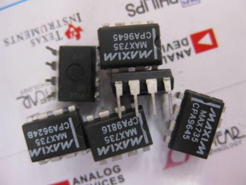2x MAX735CPA 5V Inverting PWM DC-DC Converter MAX735