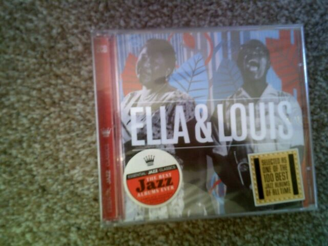 Ella & Louis + Ella and Louis Again CD 2 discs (2008)  New & Sealed Condition
