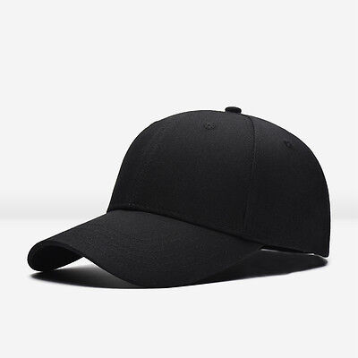 Unisex Fashion Blank Plain Snapback Hats Hip-Hop adjustable bboy Baseball Cap
