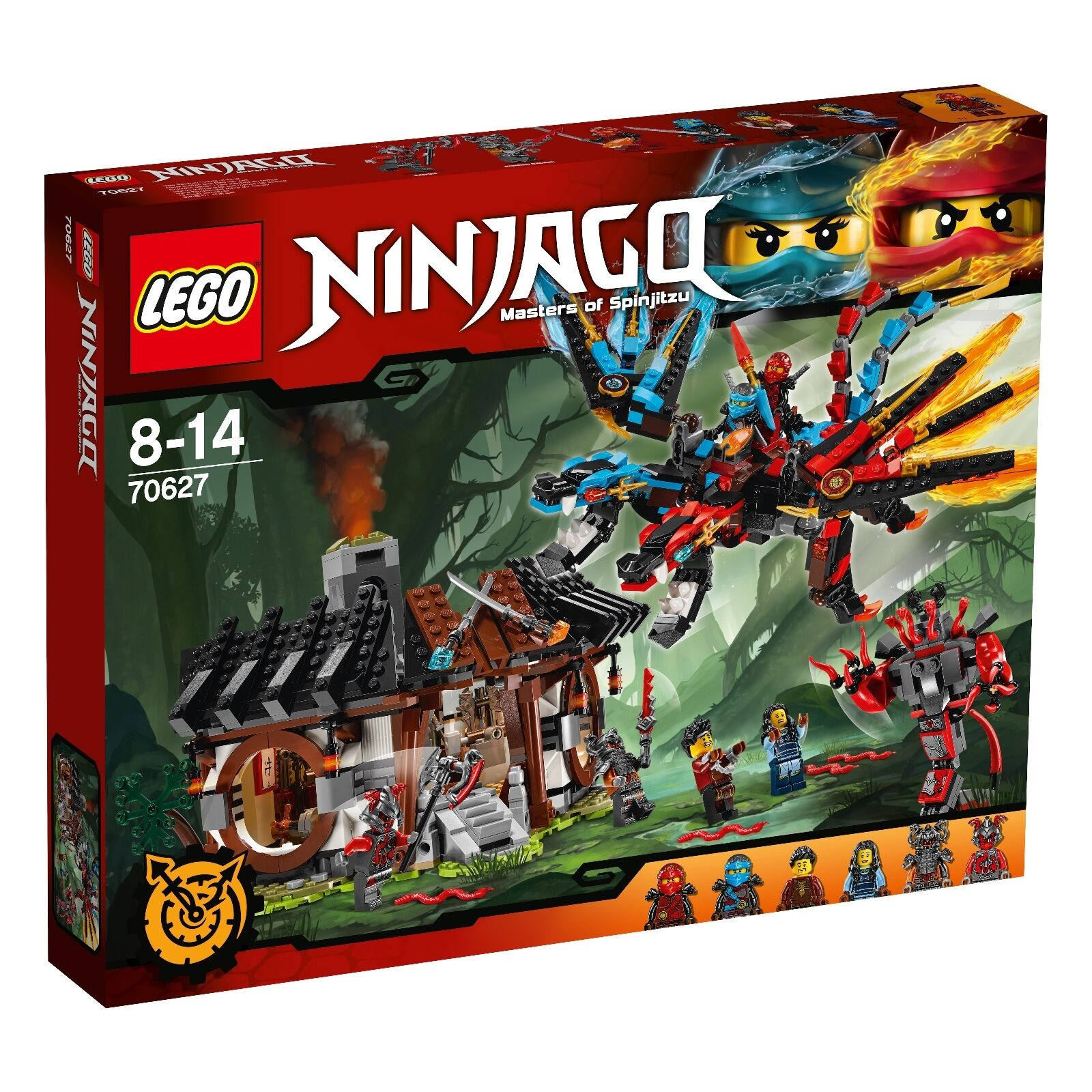 LEGO ® Ninjago ™ 70627 dragon forge neuf emballage d'origine  _ Dragon 's Forge nouveau MISB NRFB  confortable