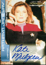 STAR TREK VOYAGER CLOSER TO HOME, CTH AUTOGRAPH CARD A1 KATE MULGREW