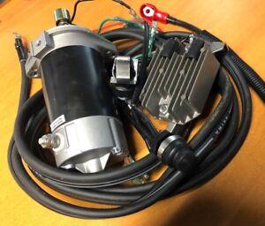 Mariner electric start conversion kit inc starter motor for Electric outboard motor conversion