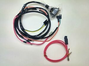 1965 65 chevelle el camino engine starter wiring harness with gauges rh ebay com 1965 Chevelle Wiring Harness 71 Chevelle Wiring Diagrams