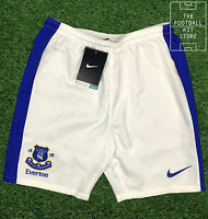 Everton Home Shorts White - Official Nike Efc Boys Football Shorts - All Sizes