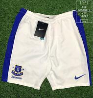 Everton Home Shorts White - Official Nike Efc Boys Football Shorts - All Sizes