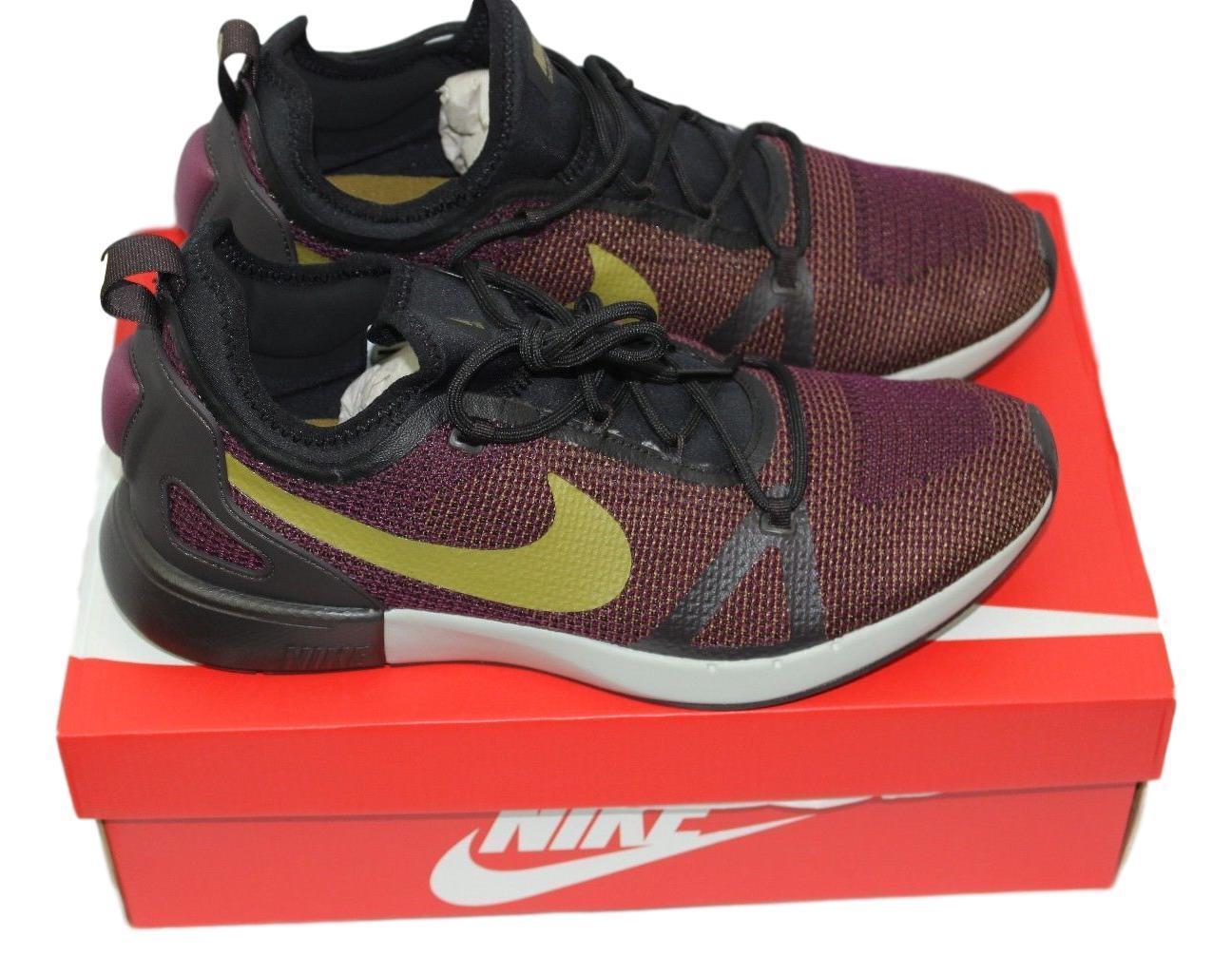 Nike Duel Racer Bordeaux Desert Moss Roshe Huarache Presto Size 10.5 918228 601