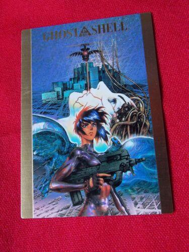BANDAI 1997 RARE Ghost in the shell MOTOKO KUSANAGI TRADING SPECIAL CARD #SP1