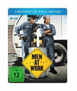 Men At Work (STEEL EDITION) BLU-Ray-Sheen, Charlie/Estevez, Emilio BLU-RAY NUOVO