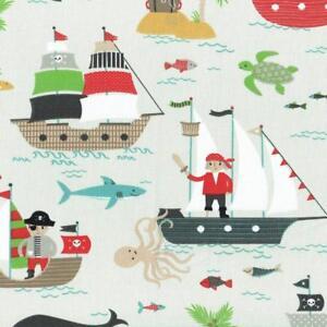 Текстиль Français пират мира детская ткань - 100% хлопок, шириной 160 см
