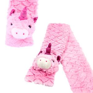 Small-Unicorn-Childrens-Kids-Thermal-Warmer-Soft-Plush-Fluffy-Scarf-Gift-Girls