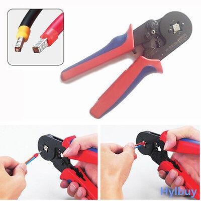 AWG23-10 Self Adjusting Ratcheting Ferrule Crimper tool HSC8 6-4A 0.25-6mm²