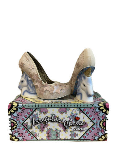 irregular choice Eternal Friend Unicorn Heels US 8