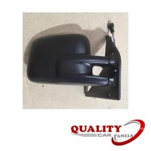 Door Wing Mirror Heated Electric Black O//S Right Side Vw Transporter 1991-2004
