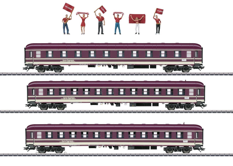 43947 fanzug-AUTO-Set Euro Express 3 pezzi  neu OVP