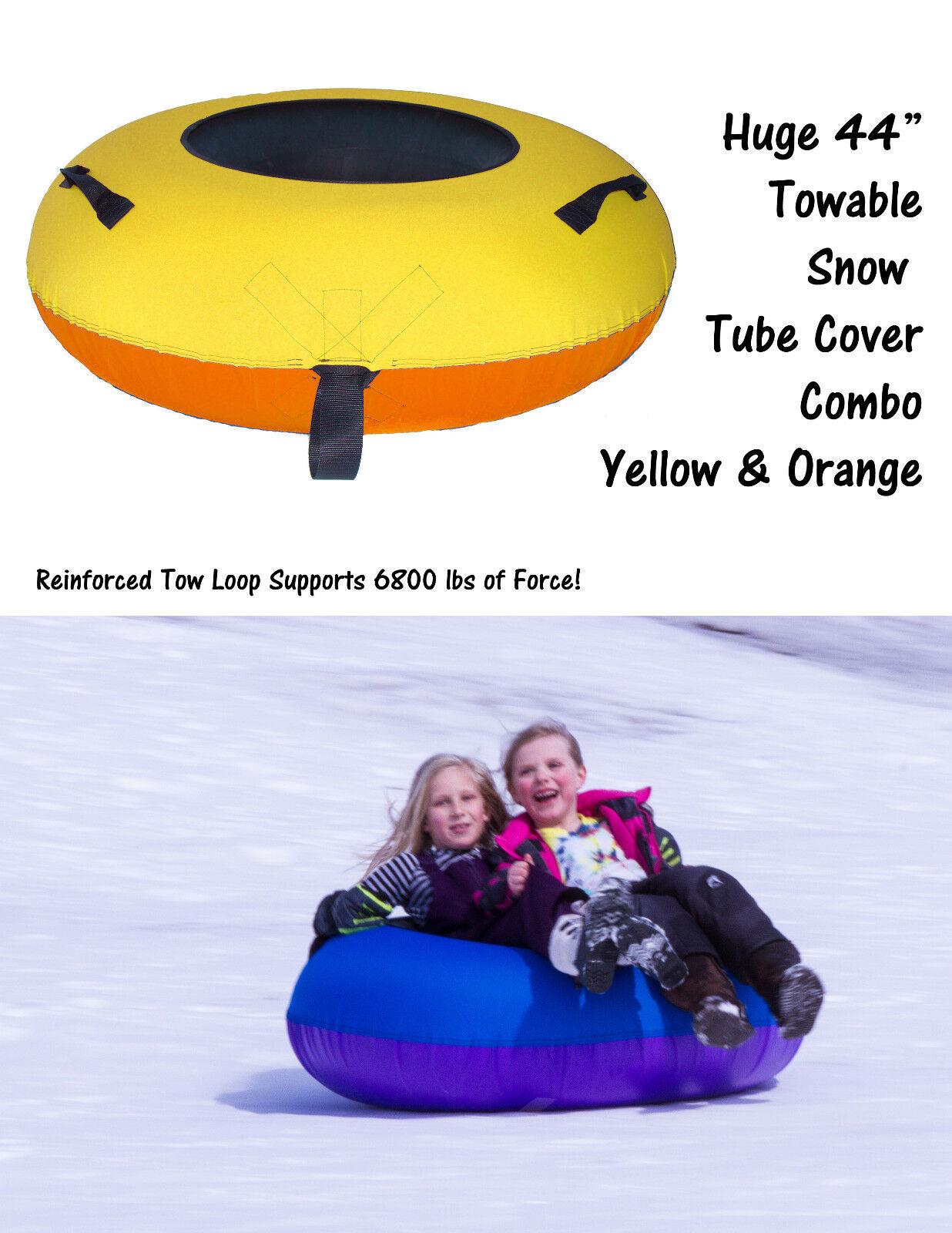 HEAVY DUTY TOW-ABLE SNOW TUBES COMBOS HUGE INNER TUBE SNOW TUBES SLEDDING SLEDS