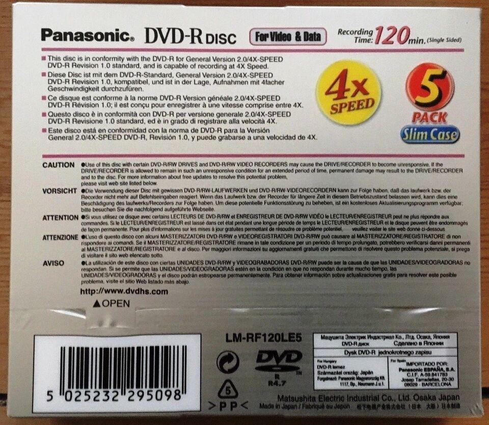Panasonic, LM-RF120LE5, Andet