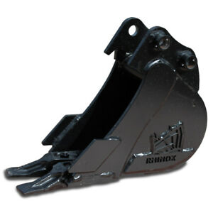 6-034-Rhinox-Mini-Digger-Excavator-Bucket-For-Kubota-K008-K008-3-U10-U10-3